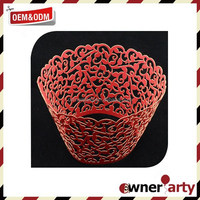 2015 Wholesale And High Quality Red Cupcake Wrappers