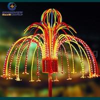 outdoor colorful LED Christmas firework light SR006