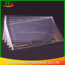 Hot selling!!!Plastic bag/self-adhesive opp bag/clear opp packing bag with header