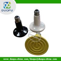Round infrared ceramic heating emitter