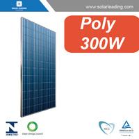 300 watt solar panel with polycrystalline solar cells, for on grid and off grid solar system