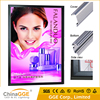 Light box advertising thin aluminum frame display picture frame