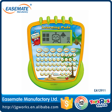 120 functions English spanish language plastic learning laptop computer toy for kid
