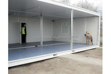 Residential building prefab guest house kit export prefab container house