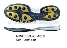 estilo elegante de não escorregar ao ar livre funcionamento eva solas de sapatos