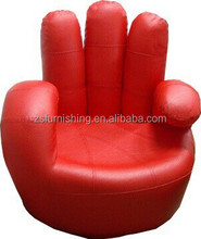 Synthetic Leather Finger sofa Chair,single sofa chair