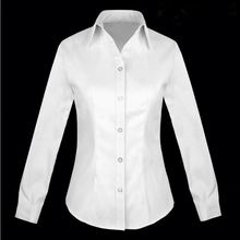New arrival top quality women's plain dress shirt with good price