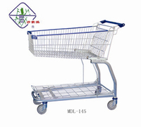 Metro wholesale shop supermarket store warehouse shopping trolley cart MDl-145litres