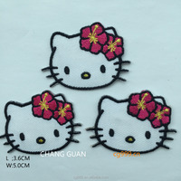 cat apparel embroidery patch designs for dresses
