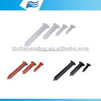syringe/plastic barrel/plastic syringe/dispensing syringe