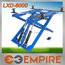 Made in China with CE certificate scissor lift two post in very competitive price