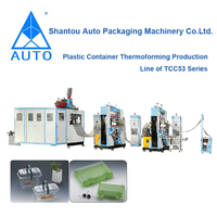 Hot sales model Plastic Disposable Food Container Making Machine