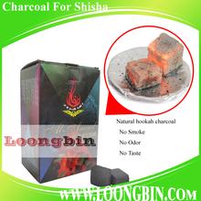 Flat shape, buy best natural hookah coals