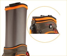 Helix nylon golf club head covers /golf club head covers quality / ladies design golf bag with wheels