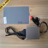 china black electric tint manufacturer, electric car window PDLC film EB GLASS BRAND