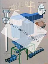 asphalt plant dust collection system