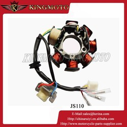 CGP200 motorcycle engine magneto stator coil, motorcycle rotor, motorcycle starter clutch for ITALIKA TC200 chopper motorcycle