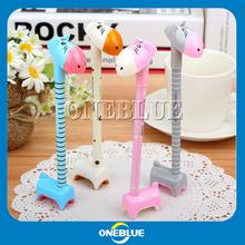 Wholesale Promotional New Design Cute Giraffe Shape Ballpoint Pen
