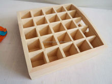 wood packing, wood compartment wall tray