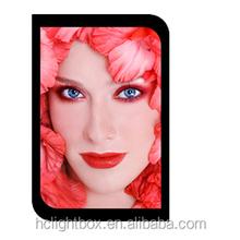 Led slim light box crystal led light box photo picture frame !