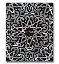 Mother of Pearl Arabic Design Mural Tile