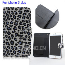 phone case animal print leopard pu wallet leather case for iphone 6, for iphone 6 case leather wallet ,for iphone 6 plus case