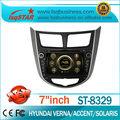 Lsq estrella central del coche multimedia gps con venta al por mayor para hyundai verna/solaris/acento