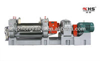 Rubber two roller sheeting machine