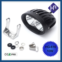 Wholesale Motorcycle Off Road 4 inch 10W rechargeable wholesales led work light
