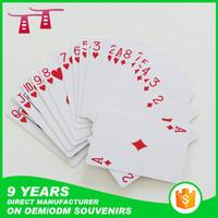 100% plastic poker cards