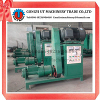 Long use life charcoal rod briquette press machine/high quality coal charcoal stick extruder