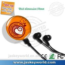 brand MP3 with 1GB/2GB/4GB/8GB for girls kids