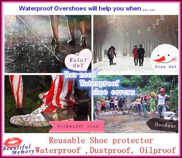 PVC shoe covers