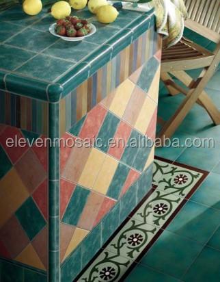 Gelb eingestellt keramik bodenfliesen- embw1550-Pozellan-Produkt ...