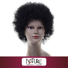 Henan Rebecca wholesale natural afro wave short cute style 100% human hair wig NATURE AFRO H/H WIG RKH-S3384Z