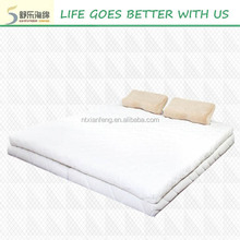 memory foam mattress topper removeable cover , compress packing memory foam mattress topper jacquard knitting cover