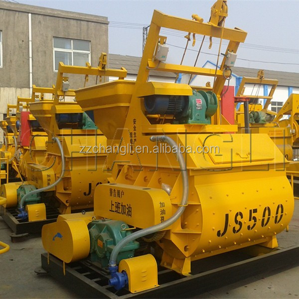 Used Small Cement Mixers : Factory price js used concrete mixers small portable