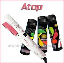 Professional Brands You Can Straighten Synthetic Hair Ultrasonic Infrared Hair Straightener