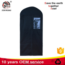 Home Nonwoven Clothes Garment Coat Dust Cover Hanging Suit Storage Bag Dirt Protector