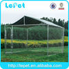 7.5' x13' x6' large hot dipped galvanized chain link mesh outdoor large dog kennel with cover