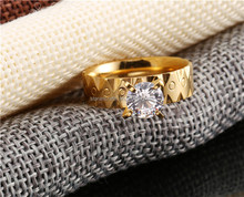 RT248 semi jewelry in China gold ring ideal point design with diamonds design for women wedding ring