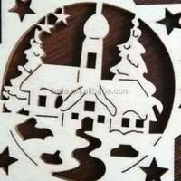 Free Shipment 2016Teda Snowflakes shape christmas key ornament