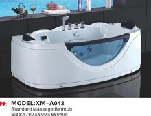 Most economical made in China best free standing jetted bathtubs