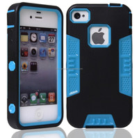 alibaba china robot hybrid tpu+pc phone shockproof case cover for iphone 4 4s