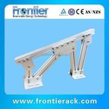 aluminum ground solar racking frames