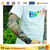 2015 Top-rated Protective nylon spandex arm sleeve