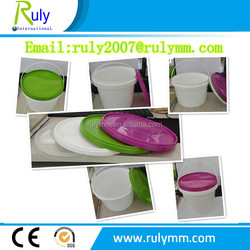 Eco-friendly round new PP sealing plastic bucket with snap-on lid
