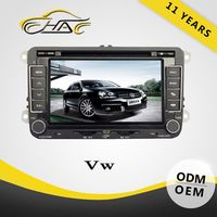 Two din screen OEM special for vw bora car gps navigation with car radio