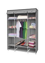 Storage Closet Organizer Portable Garment Rack Hanger XL Zip Wardrobe Furniture Sale