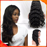 Wholesale China supplier Top Quality 100% Brazilian Hair Wig Full Lace Wig fashionable natural curl human hair wigs